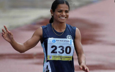 Ace Sprinter Dutee Chand nominated for the prestigious BBC Indian Sportswoman of the Year 2021