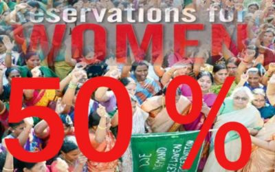 50% reservation of seats in local bodies soon for women