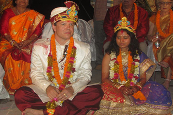 Odia girl ties knot with Sweden groom