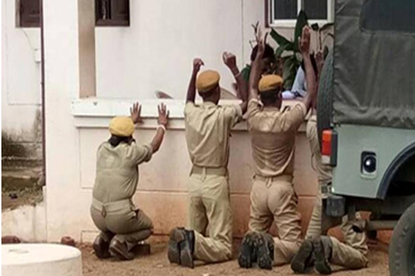 OHRC seeks report from Mayurbhanj SP, Home Guard DG in Home Guards Kneeling Down case