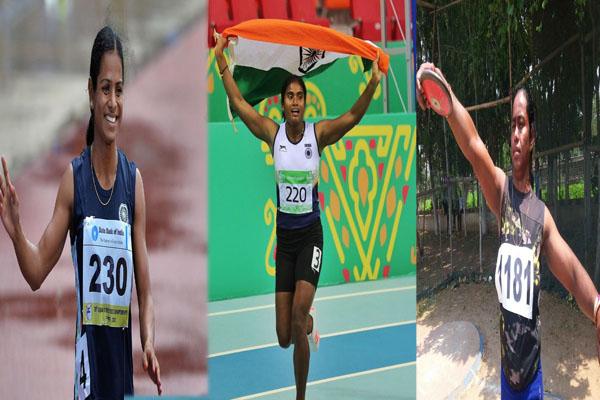 Indian Grand Prix-1: Dutee, Purnima, Parbati bring glory for state