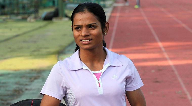 Odia sprinter Dutee Chand sets new national record