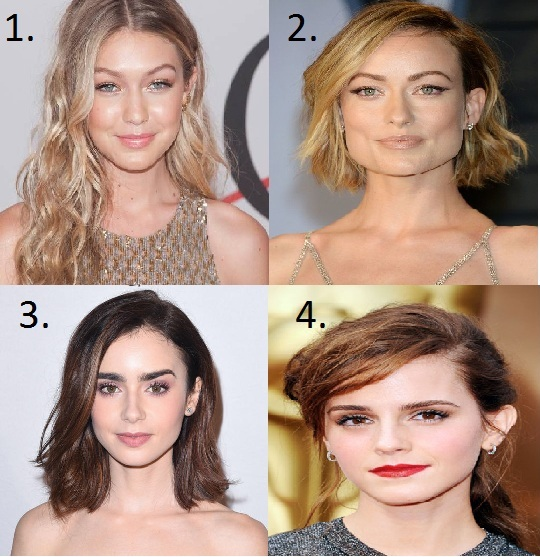 Choose Best hairstyles according to your face shape