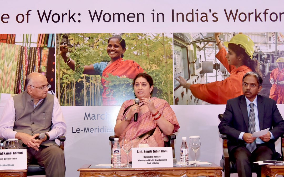 Investing in women is social investment: Smriti Irani