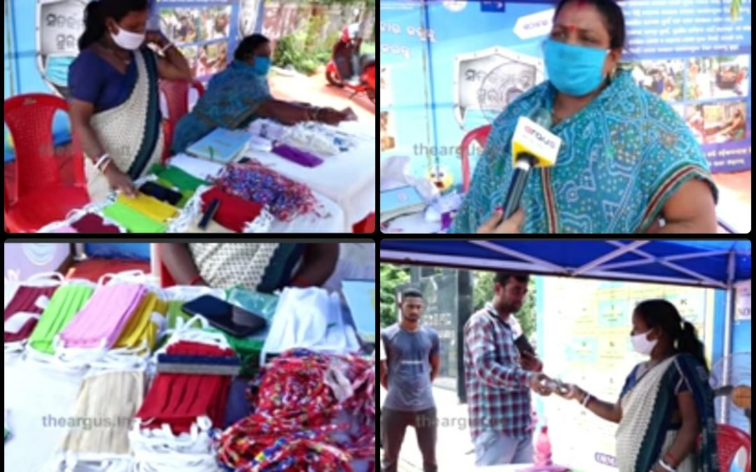 SHG women emerge Covid warriors by selling masks in capital