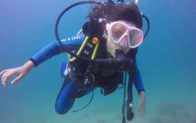 Odia girl  Tisya Panigrahi become State's Youngest Scuba Diver; dives 40ft In Gulf Of Oman