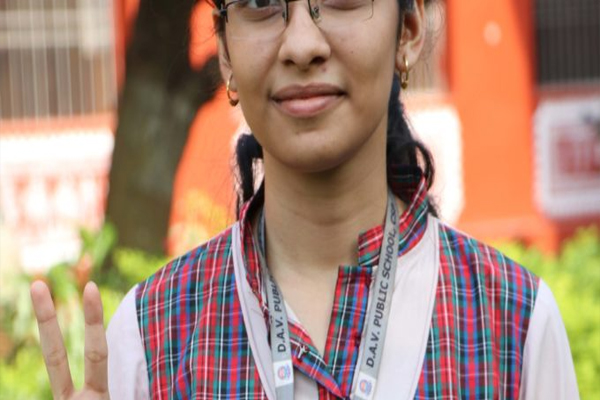 CS'pur DAV girl Stitiprajna emerges as Odisha topper in CBSE Class-X with 99.2%