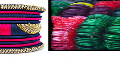 Suit yourself with Bangles as per your outfits