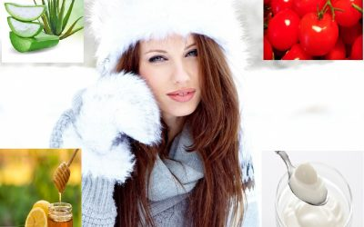 Top 4 ways to care nose, forehead, cheeks and chin in winter