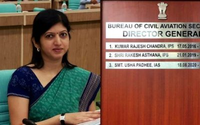 Odia IAS officerUsha Padhee appointed as first womenDG, Civil Aviation Security